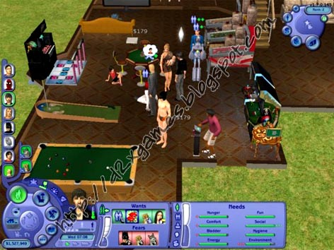 Free Download Games - The Sims 2