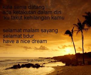 kehilangan kamu selamat malam sayang selamat tidur have a nice dream