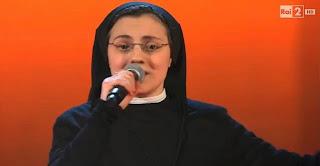 sor cristina, suor cristina, la voz italia, the voice italy