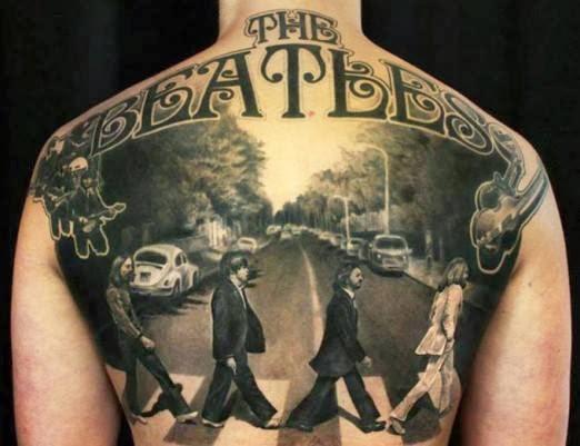 Tatuaje The Beatles álbum Abbey Road