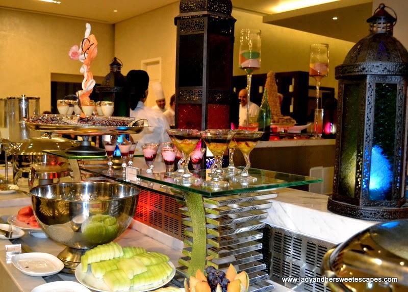 desserts at Metro! Millennium Plaza Hotel Dubai