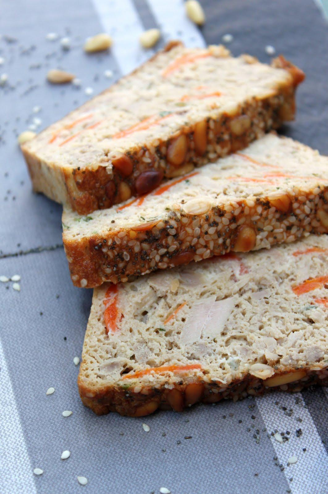 Petits repas entre amis pain de thon aux petites carottes for Repas simple amis