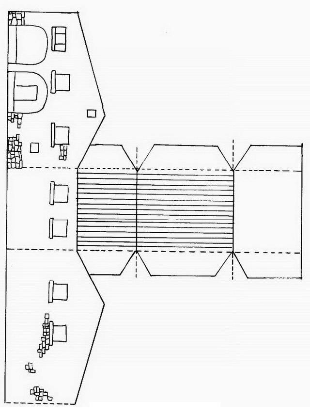 COLOREA TUS DIBUJOS: Edificio para armar