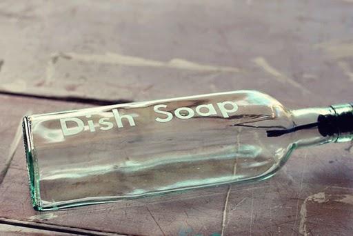 Küche: Stilvoller Seifenspender für Spüli zum Selbermachen