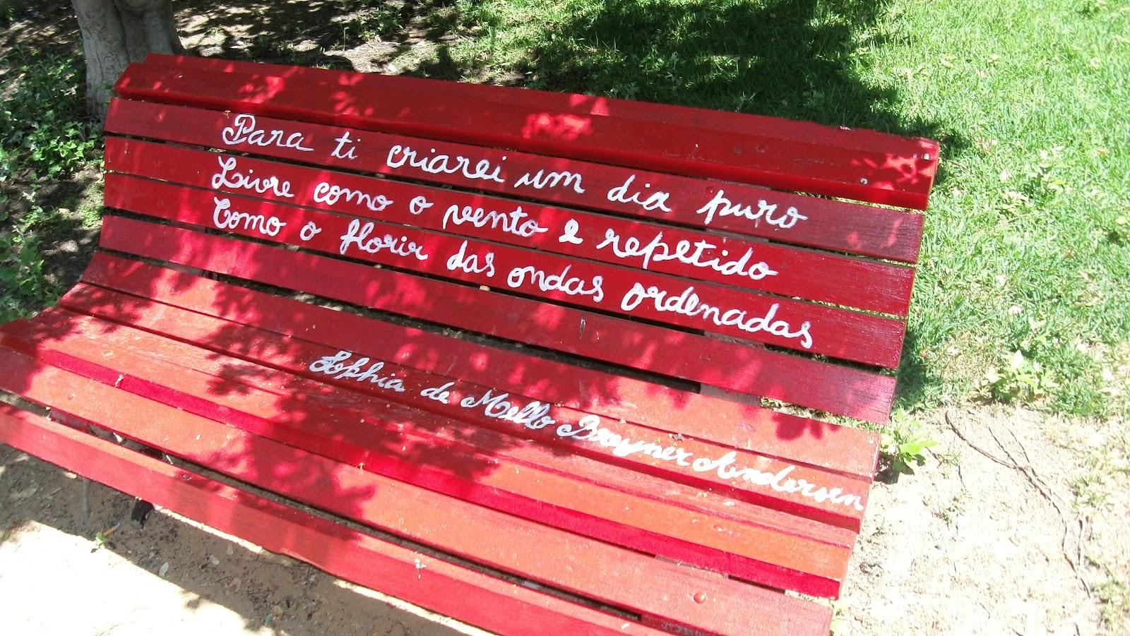 banco de jardim poesia:quarta-feira, 1 de agosto de 2012