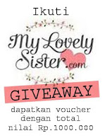My Lovely Sister 1.000.000 Pageview! Giveaway