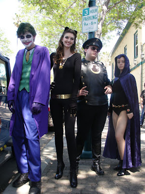 The Joker, Catwoman, Blackhawk & Raven picture