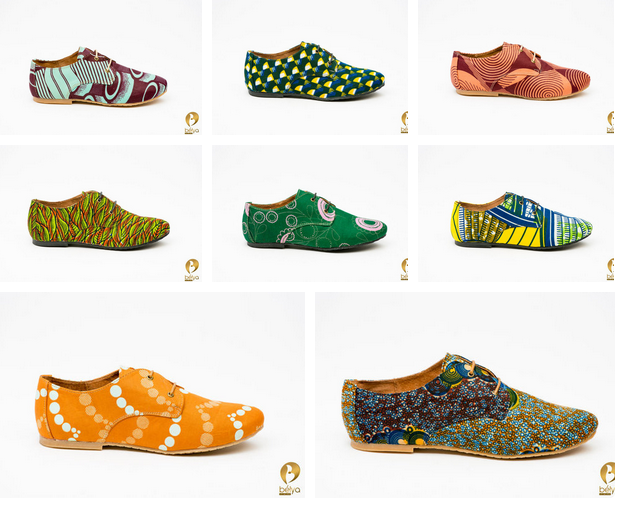 African made ankara mens shoes