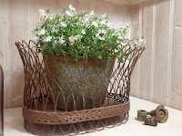 French Design Wire Basket