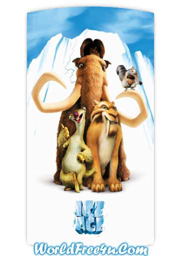 Poster Of Ice Age (2002) In Hindi English Dual Audio 300MB Compressed Small Size Pc Movie Free Download Only At worldfree4u.com