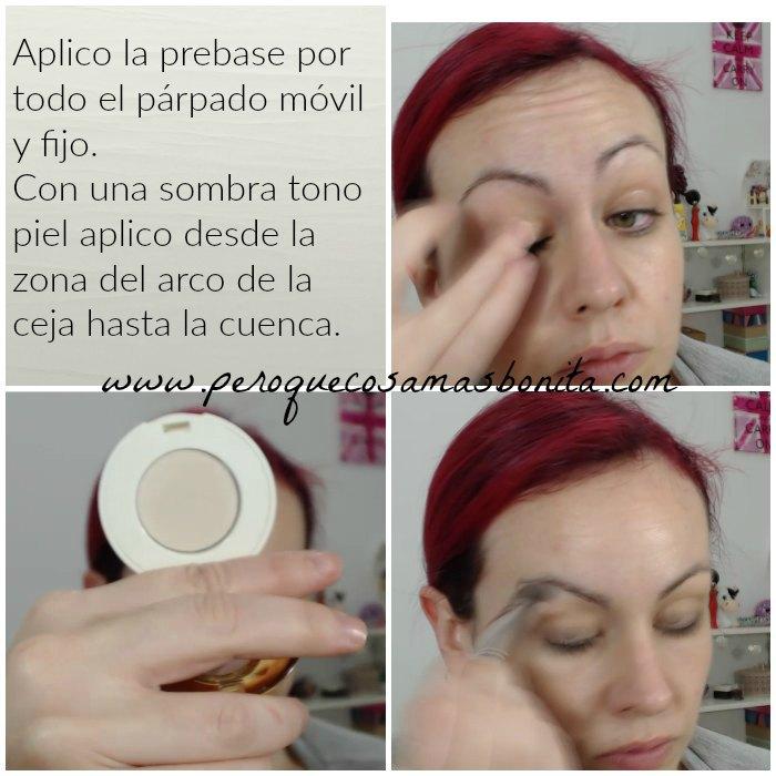 Tutorial maquillaje en tonos plata