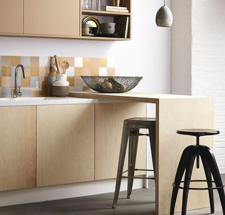 Die wohngalerie g nstiges update mit farbe Fliesenspiegel kuche streichen