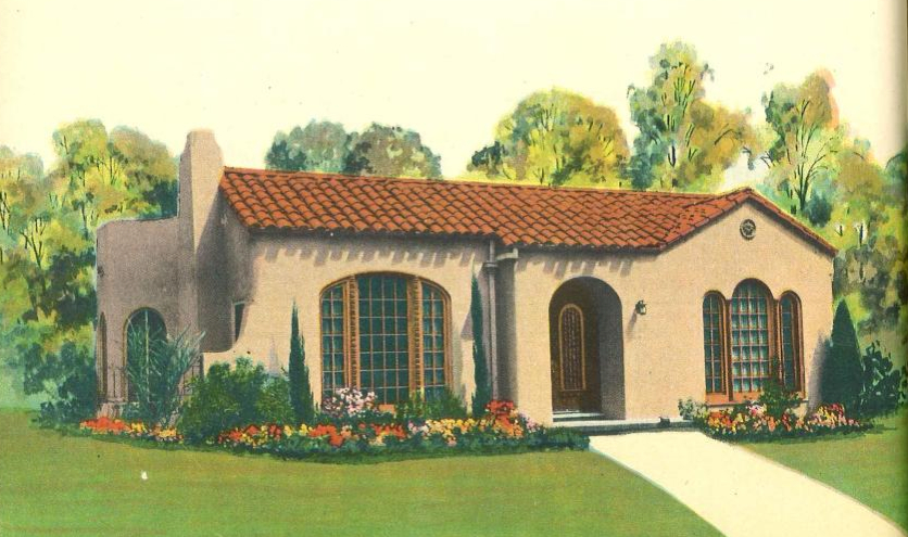 Morning Glory Spanish Style Homes 1935