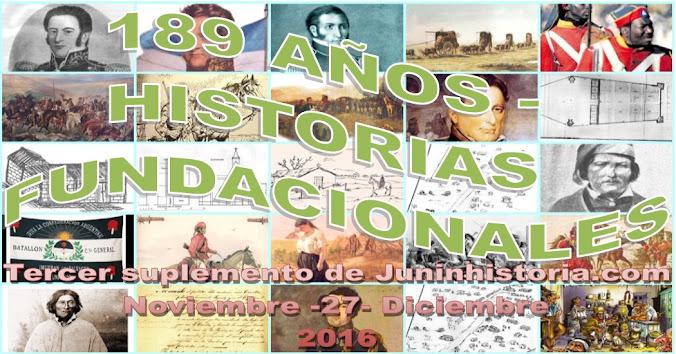 SIGLO XIX. EL FEDERACION. HISTORIAS FUNDACIONALES
