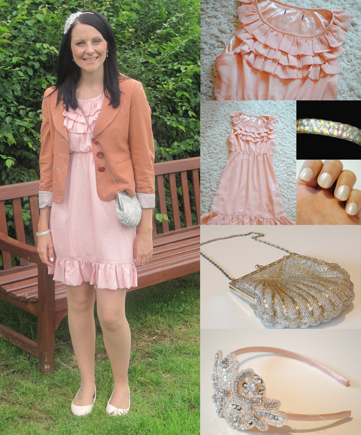 Emergency wedding dress outfit post bang on style for Tk maxx dresses for weddings