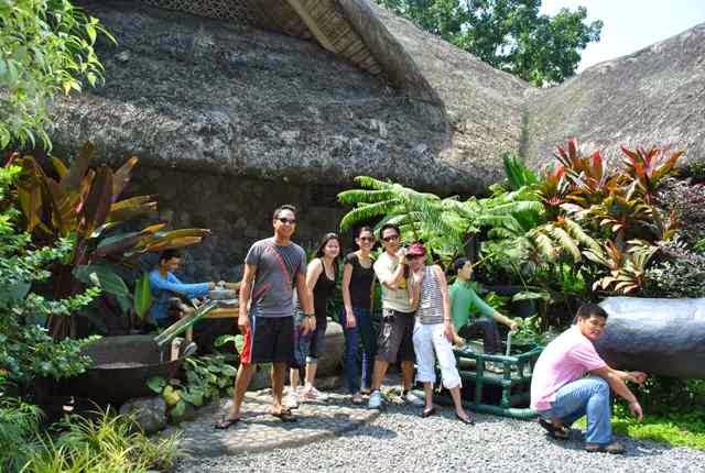 Travel experiment backpacking exploring villa escudero Villa escudero quezon province