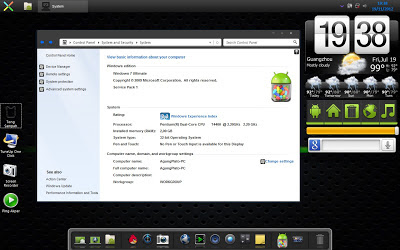 Android Jelly Bean Skin Pack 4.0 Untuk Windows 7