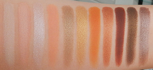 Makeup geek eyeshadow swatches