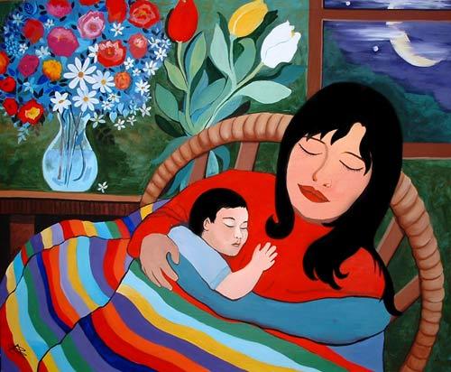 El gorguz soneto a mam for Mural una familia chicana