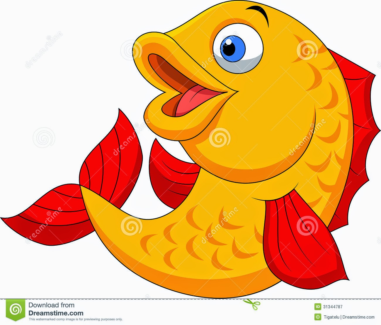 Fish cartoon images