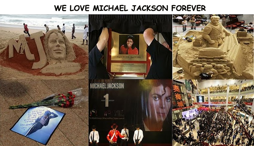 WE LOVE MICHAEL JACKSON FOREVER