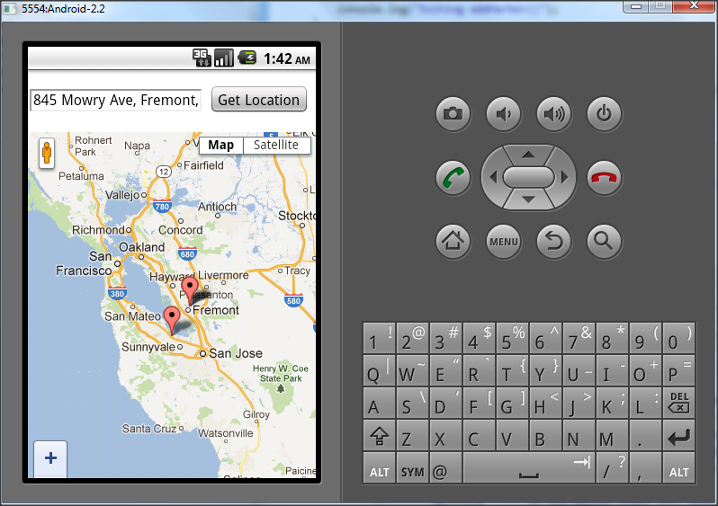 Sunil's Notes: Google Map in PhoneGap/Cordova application on