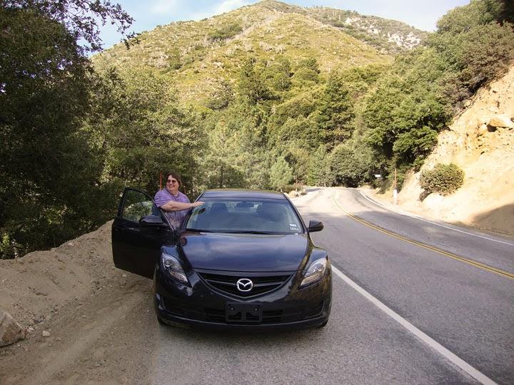 Mazda 6, a good rental car!