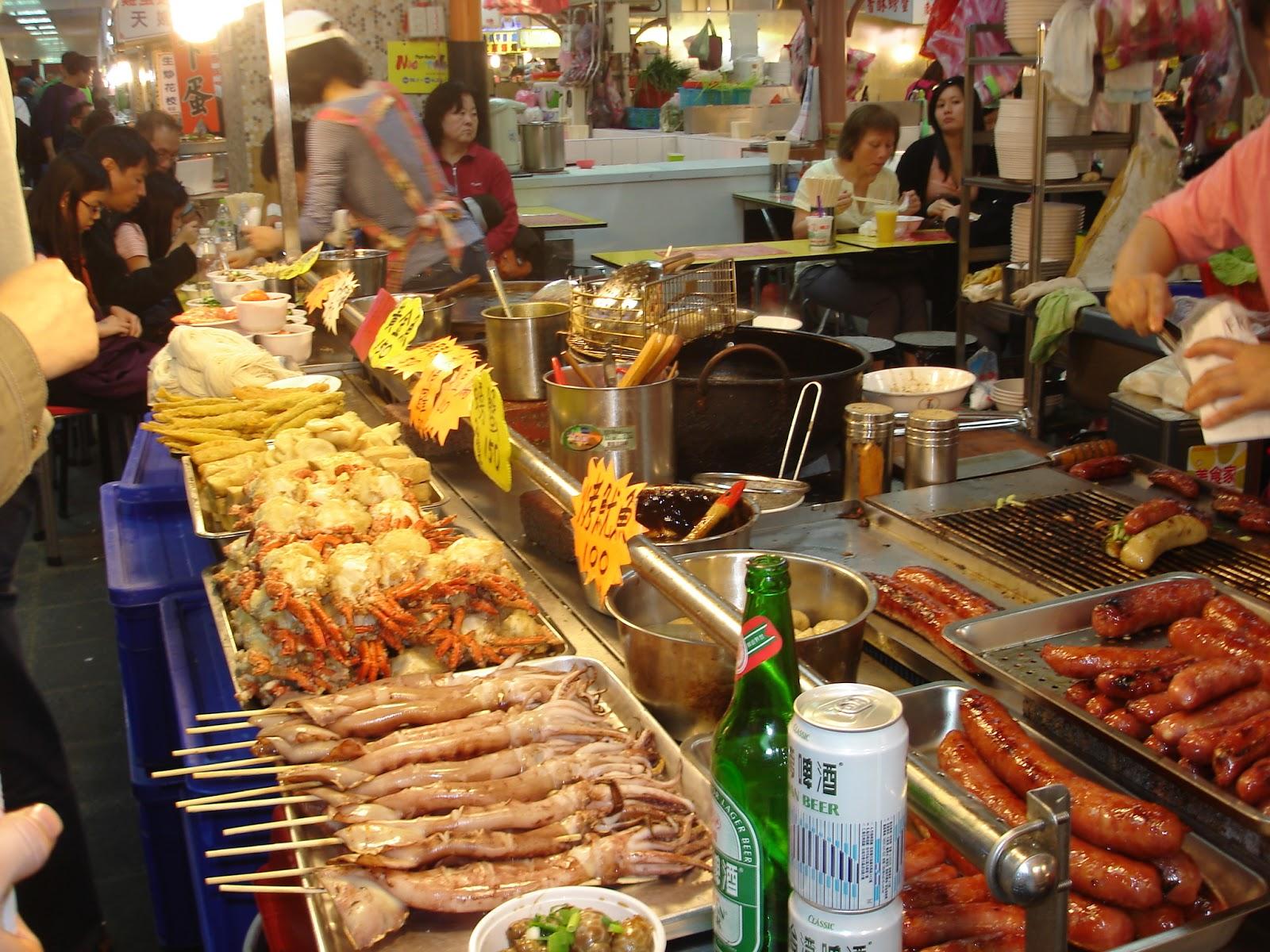 Palengke Queen Market Shilin Night Market In Taipei Taiwan