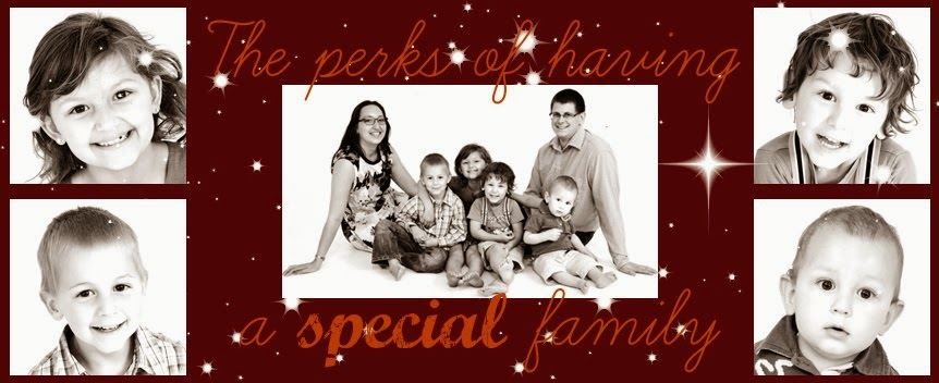 The perks of having a special needs family