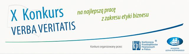 Grafika reklamujące X edycję konkursu Verba Veritatis