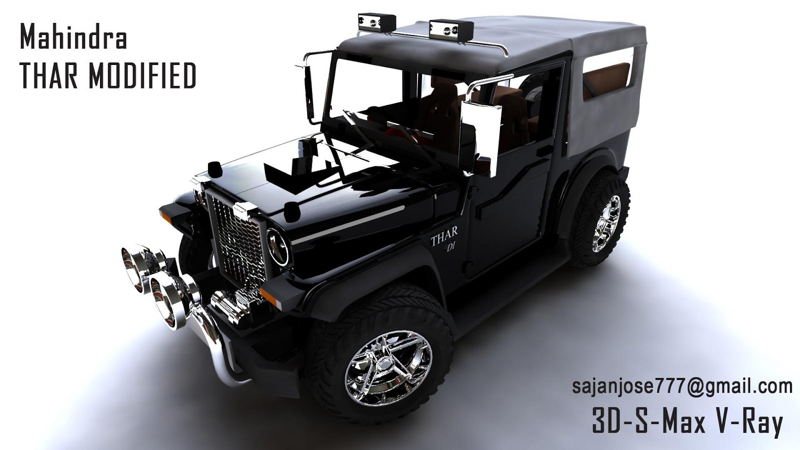 Mahindra Thar Modified
