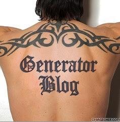 Tattoo Writing Generator