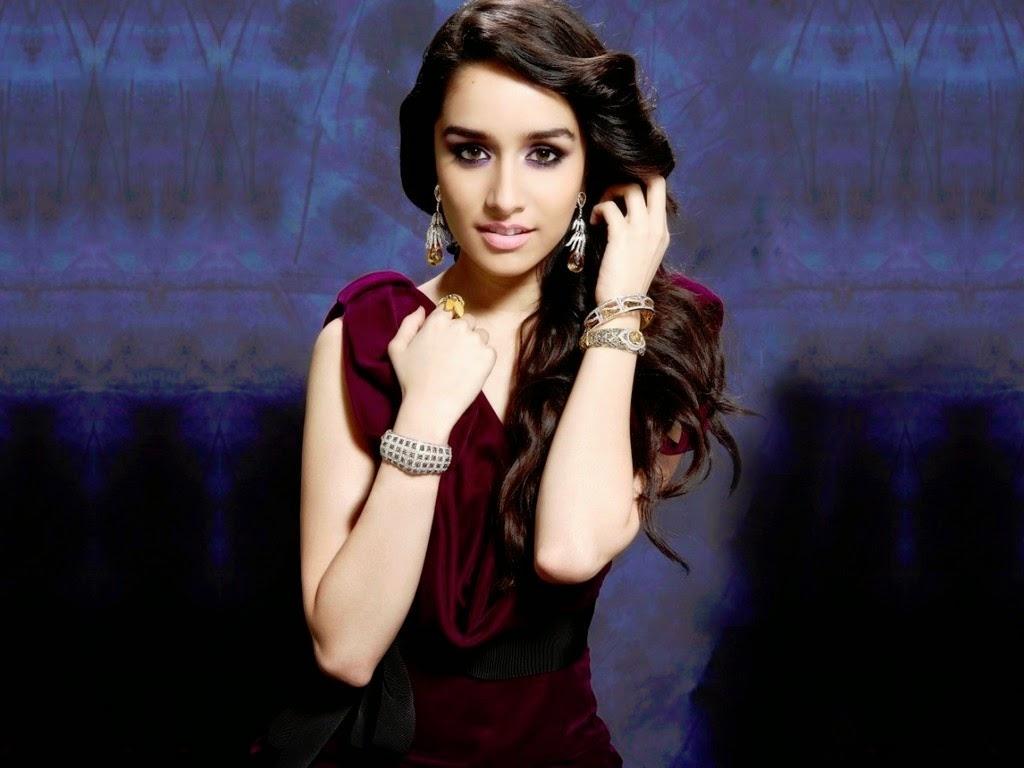 Bollywood actress shraddha kapoor hot photoshoot for desktop background