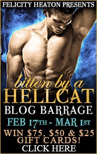 http://www.felicityheaton.co.uk/bitten-by-a-hellcat-paranormal-romance-novel.php