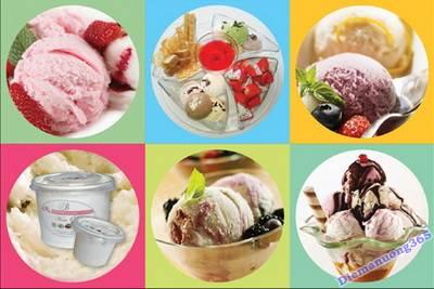 Kem 2B - Thưởng thức ly kem mát lạnh, hương vị độc đáo, quán kem ngon, điểm ăn uống 365