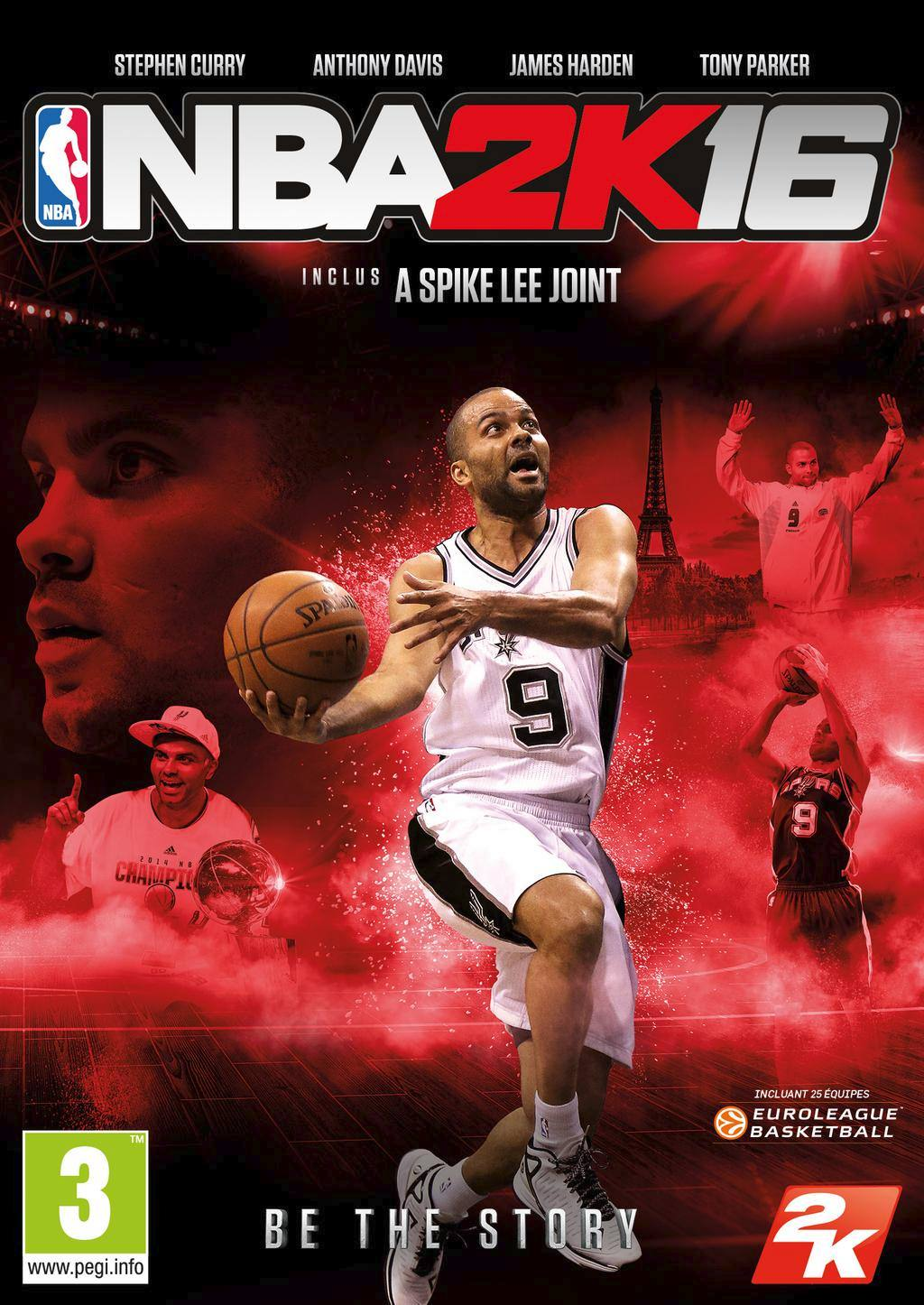 NBA 2K16 will have 25 Euroleague teams and Tony Parker on Cover