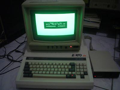 Thiago França Acervo Apple II TDOS4 Exato IIe 1990 disk drive Unitron