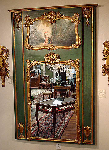 Eye For Design Decorating With French Trumeau Mirrors