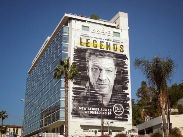 Giant Legends series premiere billboard