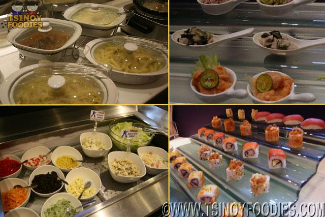 roboto san japanese grill buffet selections