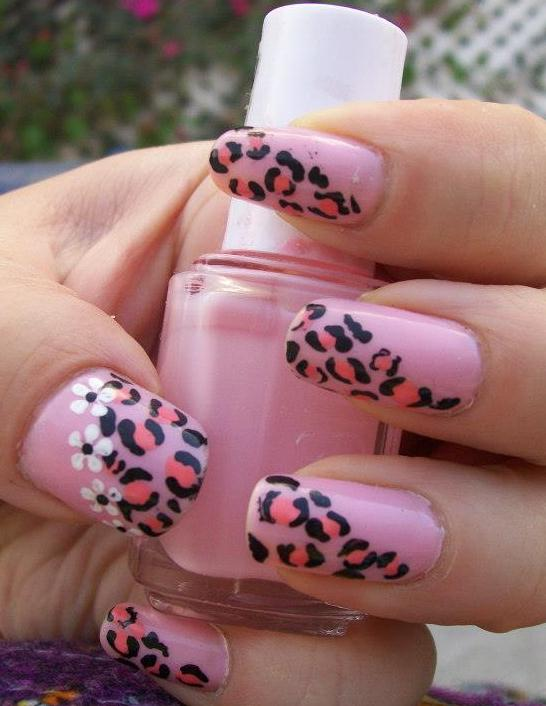 The Exciting Leopard print fake nail designs Photograph