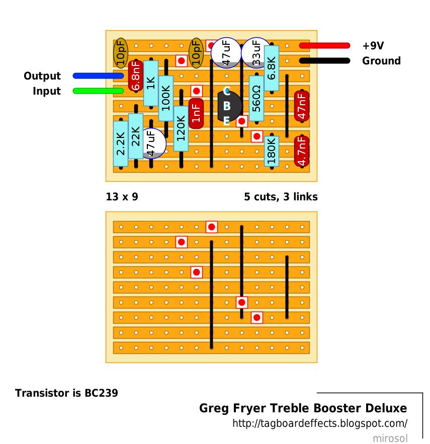 dallas rangemaster treble booster schematic
