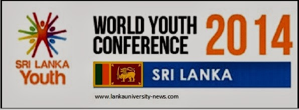 World Youth Conference WYC 2014 Sri Lanka Colombo