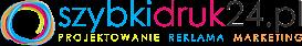 SzybkiDruk24.pl - drukarnia, agencja reklamowa, oklejanie, nadruki, gadżety, odzież