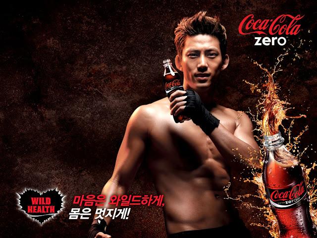 Taecyeon+2PM+Coca+Cola+Zero+Wallpaper+2011