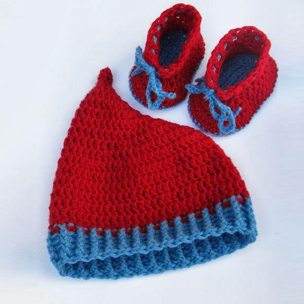 Roaming Pixies: Free Baby Booties Crochet Pattern in DK ...