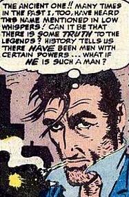 The origin of Dr Strange