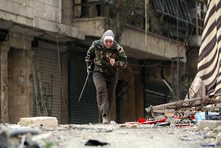 Guevara Sniper Wanita Suriah