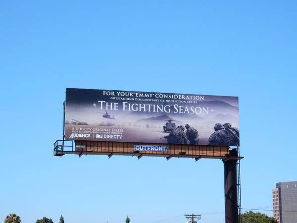 The Fighting Season Emmy 2015 billboard