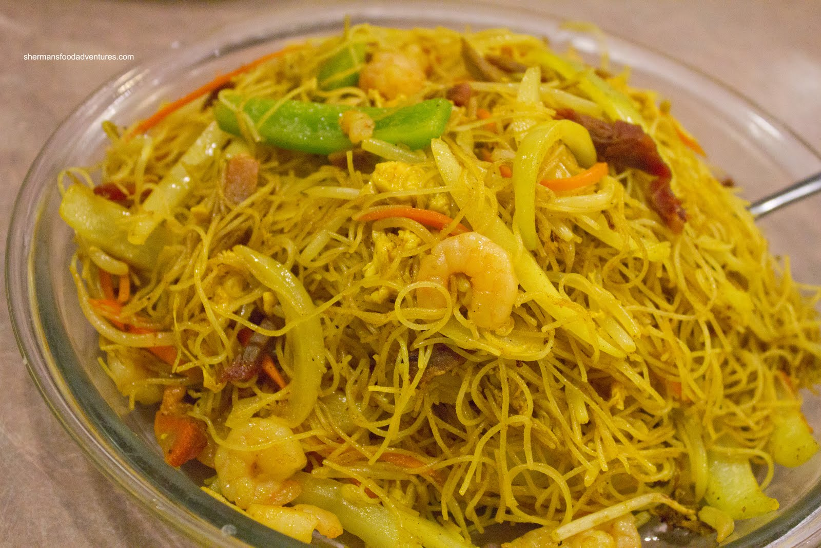 Singapore Noodles Recipe — Dishmaps
